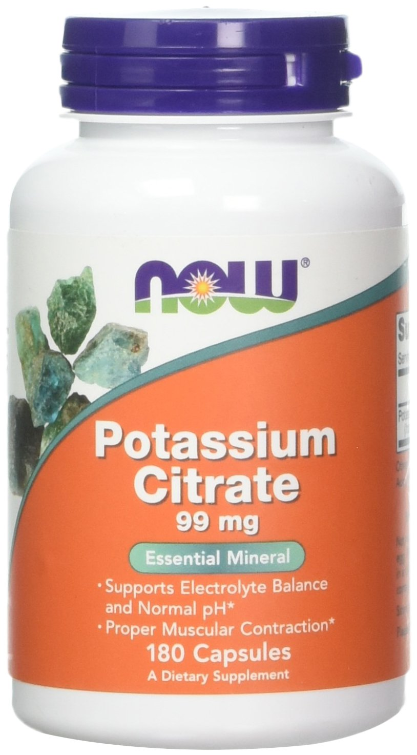 Potassium Citrate 99 mg 180 Capsules (Pack of 2)