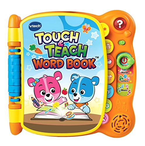 61Ub07q8nRL - VTech Touch & Teach Word Book (Frustration Free Packaging)