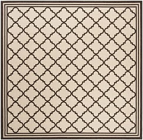 Safavieh Linden Collection Premium Wool Square Area Rug