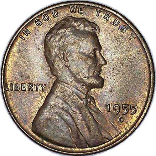 1955 D Lincoln Wheat Cent Very Fine