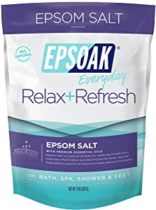 Epsoak Everyday Epsom Salt - 2 lbs. Relax + Refresh