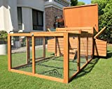 Pets Imperial Balmoral Double Large Chicken Coop With 4ft 6'' Run Suitable For Up to 8 Birds Depending on Size