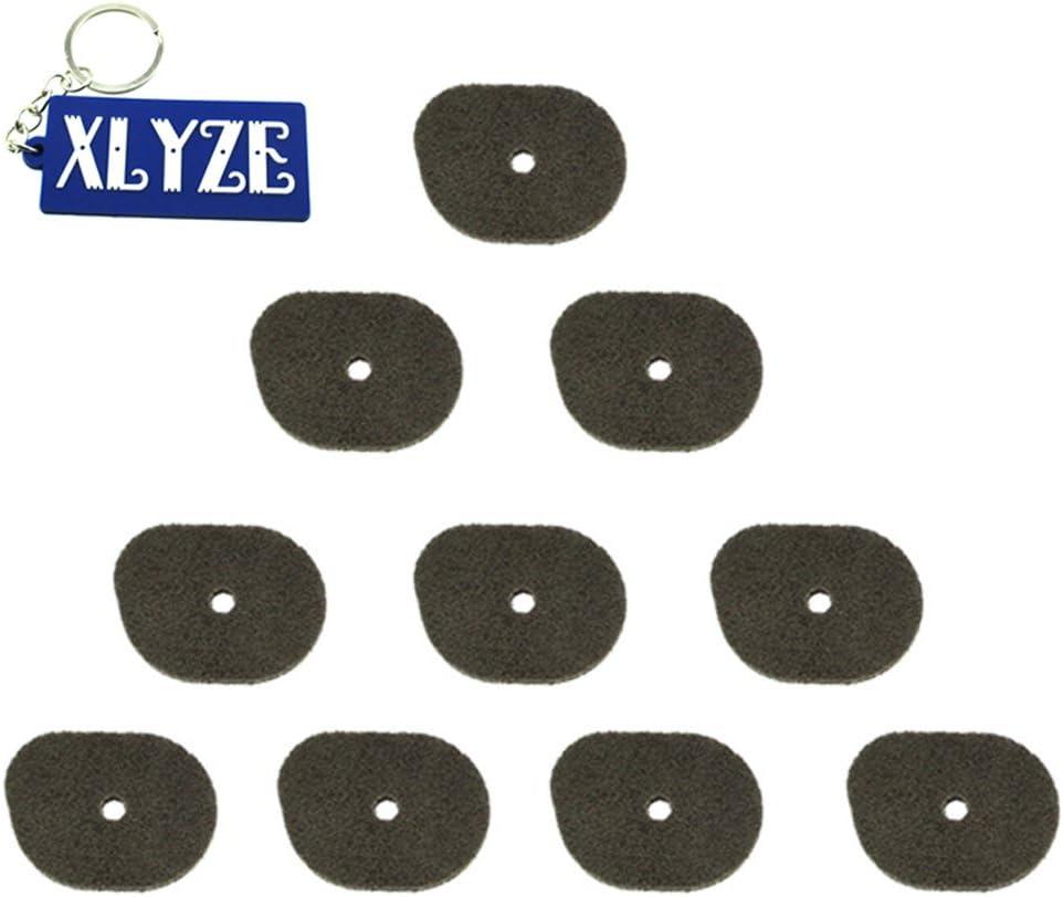 XLYZE Air Filter 5pcs for Stihl 4144-124-2800 KM56C KM56RC FC56C FS40 FS40C FS50 FS50C FC70C FS56 FS56C FS56R FS56RC HT56C FS70C FS70RC