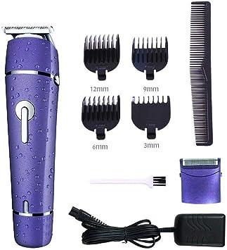Cortadora Eléctrica Para Cortar El Pelo Para Hombres Y Afeitadora Eléctrica Para Barba. Maquinilla De Afeitar En Seco Impermeable Para Hombres. Multifunción 2 En 1 Máquina De Afeitar.: Amazon.es: Belleza