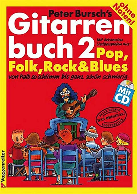 Peter Bursch 9783802402142 - Libro de guitarras (incluye CD, desde ...