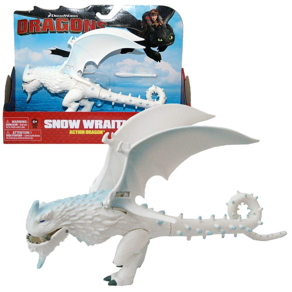 Dragons - Action Game Set - Dragon Snow Wraith Flapping Wings Spin Master
