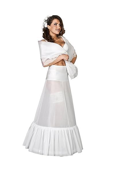 Nina Brautmoden - Vestido de novia - enaguas - Mujer: Amazon.es: Ropa y accesorios
