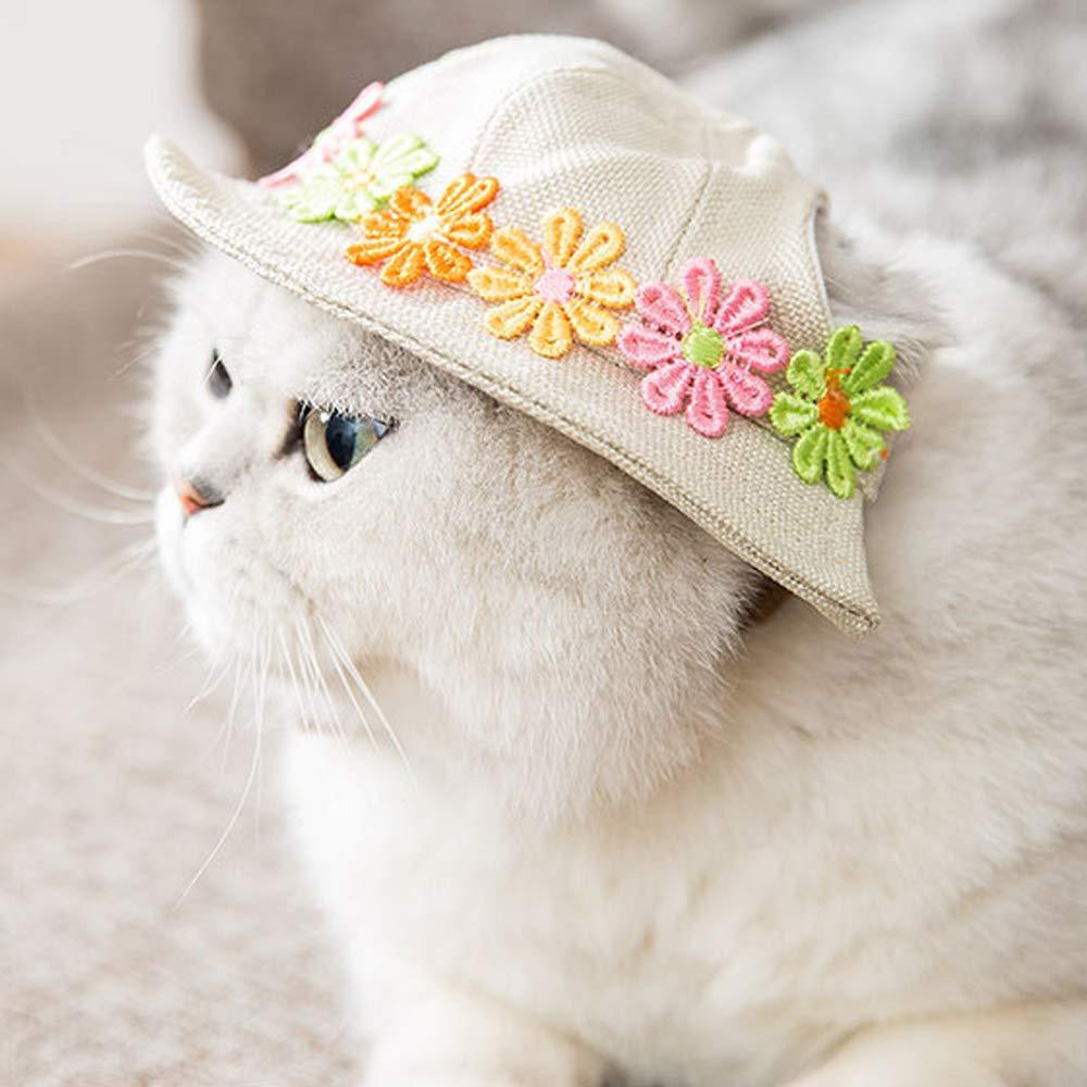 Modow Perro De Lona para Mascotas Lindo Sombrero para El Sol ...