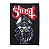 Ghost BC Patch Papa Emeritus & The Nameless Ghouls Heavy Metal Sew On Applique