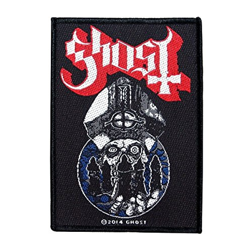 Ghost BC Patch Papa Emeritus & The Nameless Ghouls Heavy Metal Sew On Applique by Mia_you