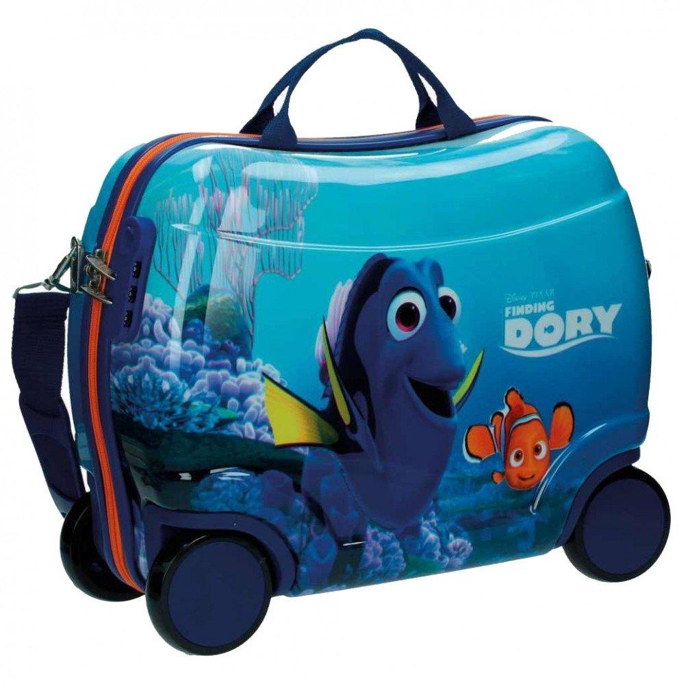 Disney Sitzkoffer Findet Dorie Kindergepäck, 27.88 Liter, Blau