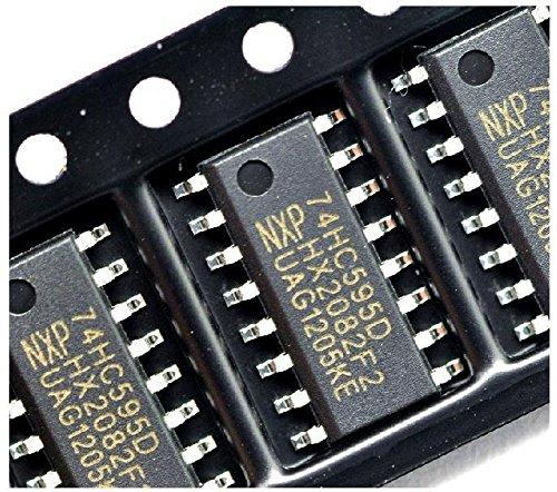 Quickbuying 10PCS IC 74HC595D 74HC595 SOP-16 8-BIT SHIFT REGISTER NEW GOOD QUALITY