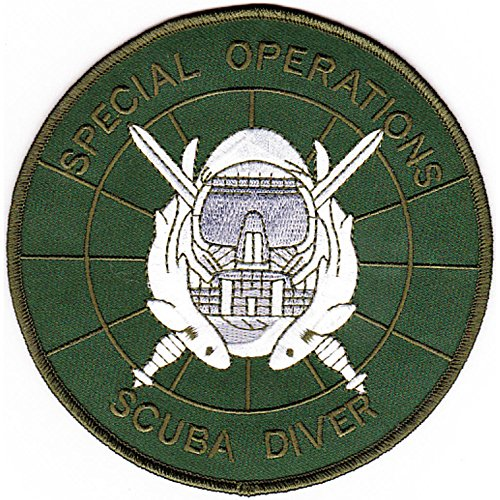 Special Operations Scuba Diver Patch