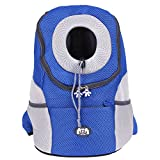 TTnight Pet Carrier Backpack, Breathable Outdoor Travel Bag for Carrying Dogs, Cats, Small or Medium Pets