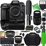 Nikon D7500 20.9MP DX-Format Digital SLR Camera + Sigma 70-300mm Macro Telephoto Lens Video Creator Bundle + Free DigitalAndMore Accessories