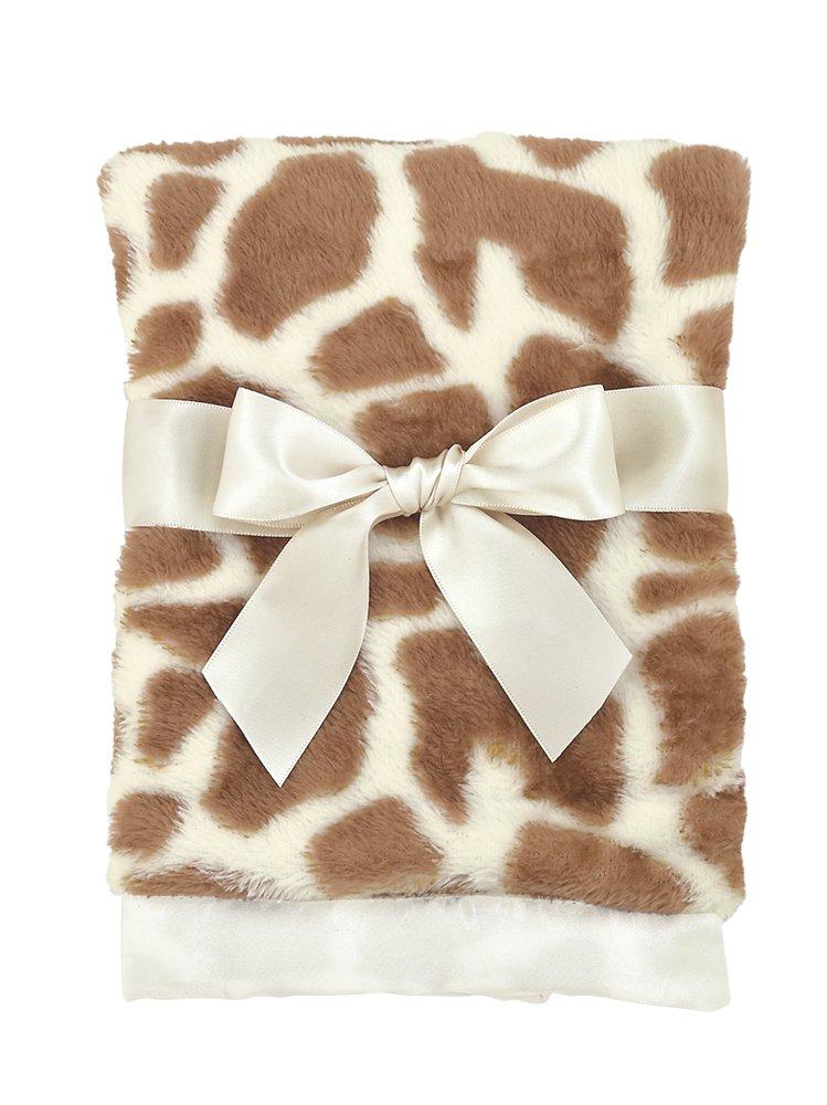 Bearington Baby Lil' Patches Bebe Giraffe Security Blanket by Bearington   B00V9955KG
