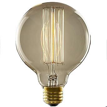 E27 40 W bombillas LED luz blanca cálida estilo vintage retro industrial edison Lámpara de bombillas