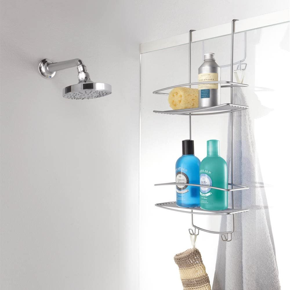 Metaltex ONDA - Jabonera de colgar para mampara de ducha: Amazon.es: Hogar