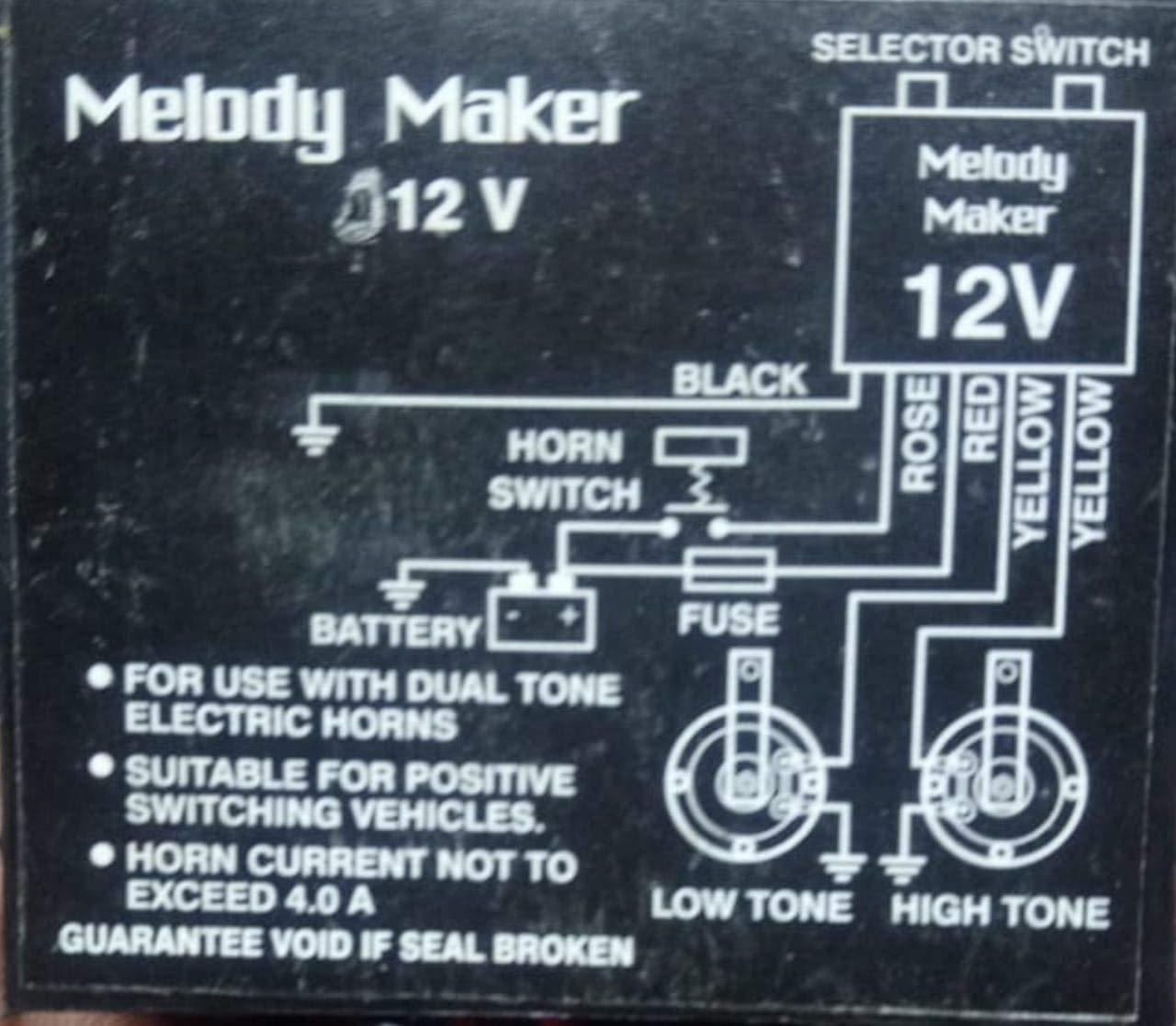 [GJFJ_338]  UNO MINDA P886019PS Melody Maker with 24- Buy Online in Burkina Faso at  Desertcart | Melody Maker Wiring Diagram |  | Desertcart