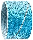 PFERD 41421 Cylindrical Type Abrasive Spiral Band, Zirconia Alumina Z-Cool, 1-3/4'' Diameter x 1-1/8'' Length, 80 Grit (Pack of 100)