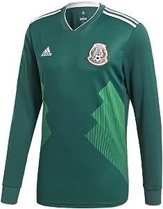 adidas Mexico Home Long Sleeve Jersey [CGREEN]