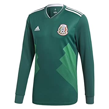 c84ab9bb adidas Mexico Home Men's Long Sleeve Jersey 2018