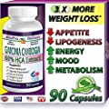 Pure USA Garcinia Cambogia Extract, 60% HCA, 90 Caps, 1500 mg - 3000 mg Daily,All Natural Diet Reviews Best Tips for Burn & Lose Fat Fast to Naturally Lower Weight loss Pills & Cholesterol Supplements That Works - Quickly, Safely, Slim At Home & Lose It N
