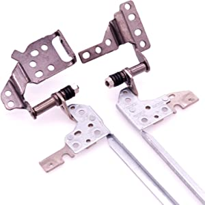 Deal4GO Right & Left LCD Hinge Set Replacement for Acer Aspire A515 A515-51 A515-41 A515-51G Screen Hinges 33.GP4N2.003
