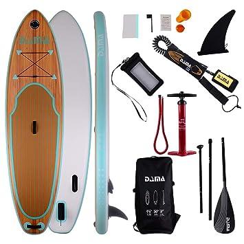 Amazon.com: DAMA 3357915 - Tabla hinchable para paddle, alta ...