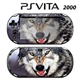 Decorative Video Game Skin Decal Cover Sticker for Sony PlayStation PS Vita Slim (PCH-2000) - Wolf