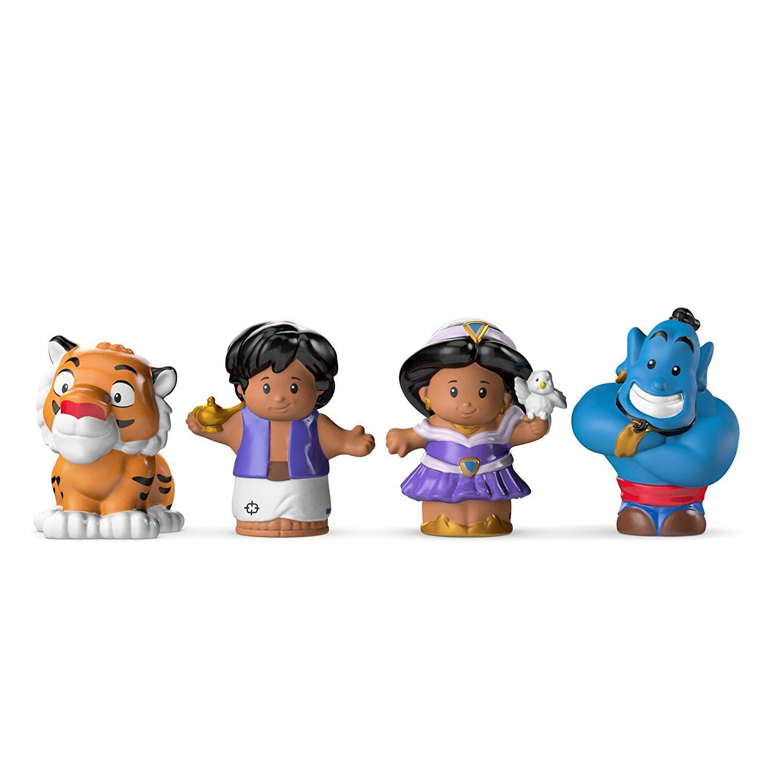 Fisher Price Little People Disney Princess & Friends Figure Set of 4 - Belle, Cinderella, Jasmin & Rapunzel by Disney Princess (Image #7)