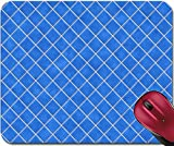 Liili Mousepad Blue tiles texture background kitchen or - Best Reviews Guide