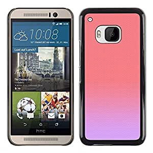 All Phone Most Case / Hard PC Metal piece Shell Slim Cover Protective Case Carcasa Funda Caso de protección para HTC One M9 purple peach pink pastel colors cute