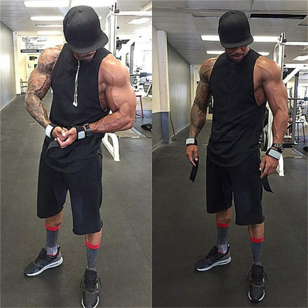 Breathable Sport Tank Top Sleeveless Basic Sweatshirt Muscle Tee Masculinity Gifts Mens Tops MISYAA Tank Tops for Men