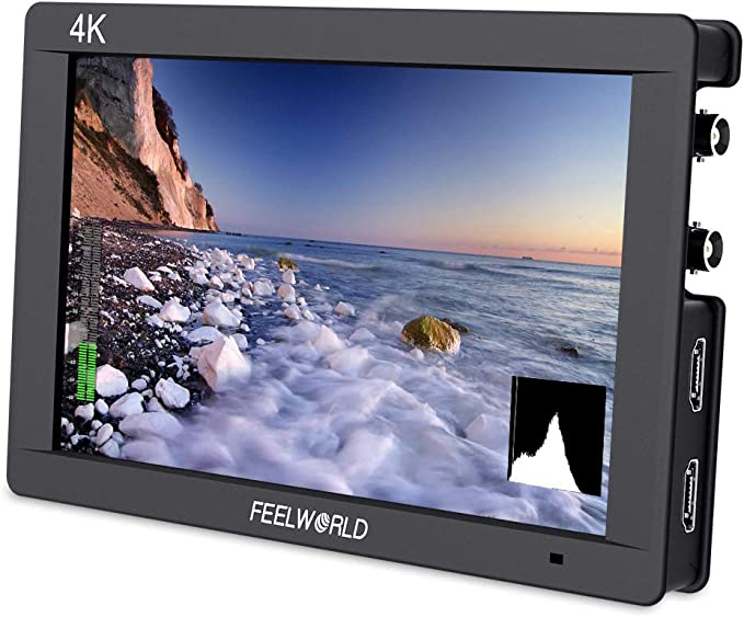 Feelworld ST-702HSD 7 3G-SDI HDMI LCD Field Monitor For Tilta BMCC Canon 1DC 5D2 5D3 FS700
