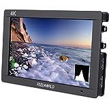 FEELWORLD FW703 7 Inch IPS 3G SDI 4K HDMI DSLR Monitor Full HD 1920x1200 On Camera Field Monitor with Histogram for…