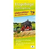 Erzgebirge und Umgebung: Erlebnisführer mit Informationen zu Freizeiteinrichtungen auf der Kartenrückseite. wetterfest, reißfest, abwischbar, GPS-genau. 1:160000 (Erlebnisführer / EF)