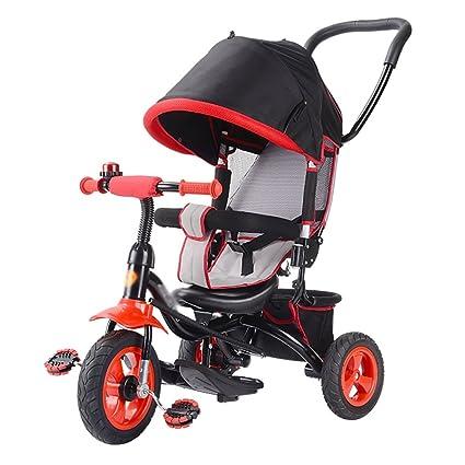 Triciclos- niños Bicicleta para niños Trike Baby Bike Carrito para bebés de 1-3