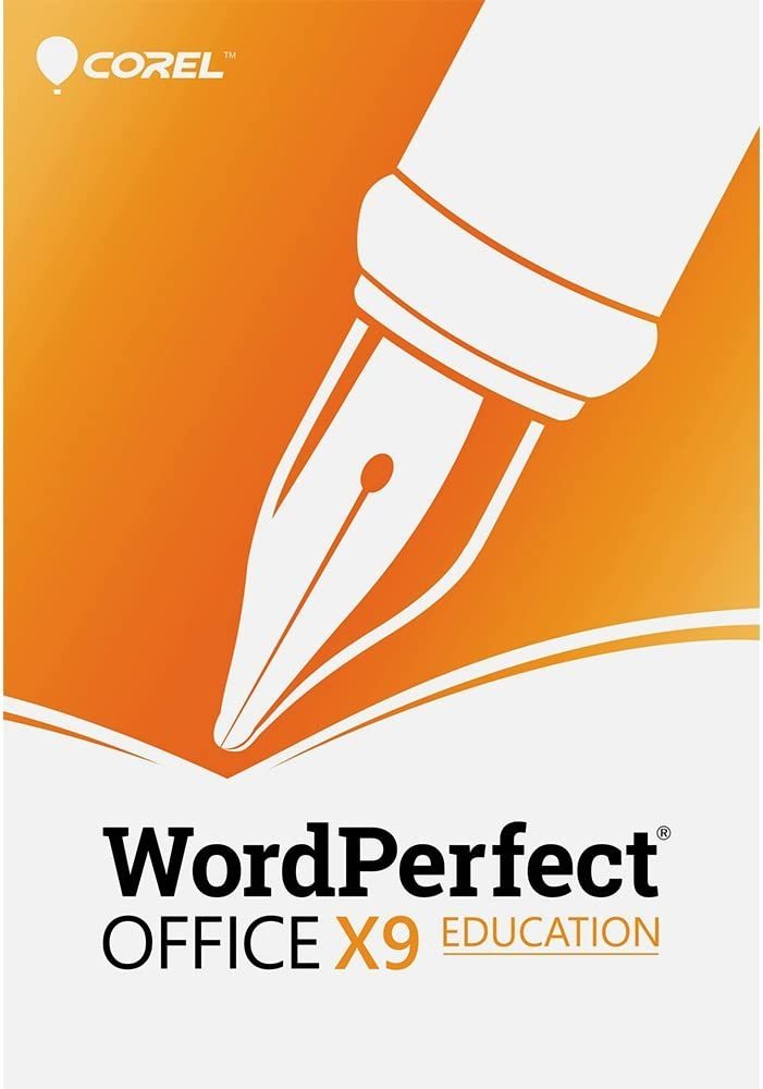 Corel WordPerfect Office X9 - All in One Office Suite - Education [PC Download] [Old Version]