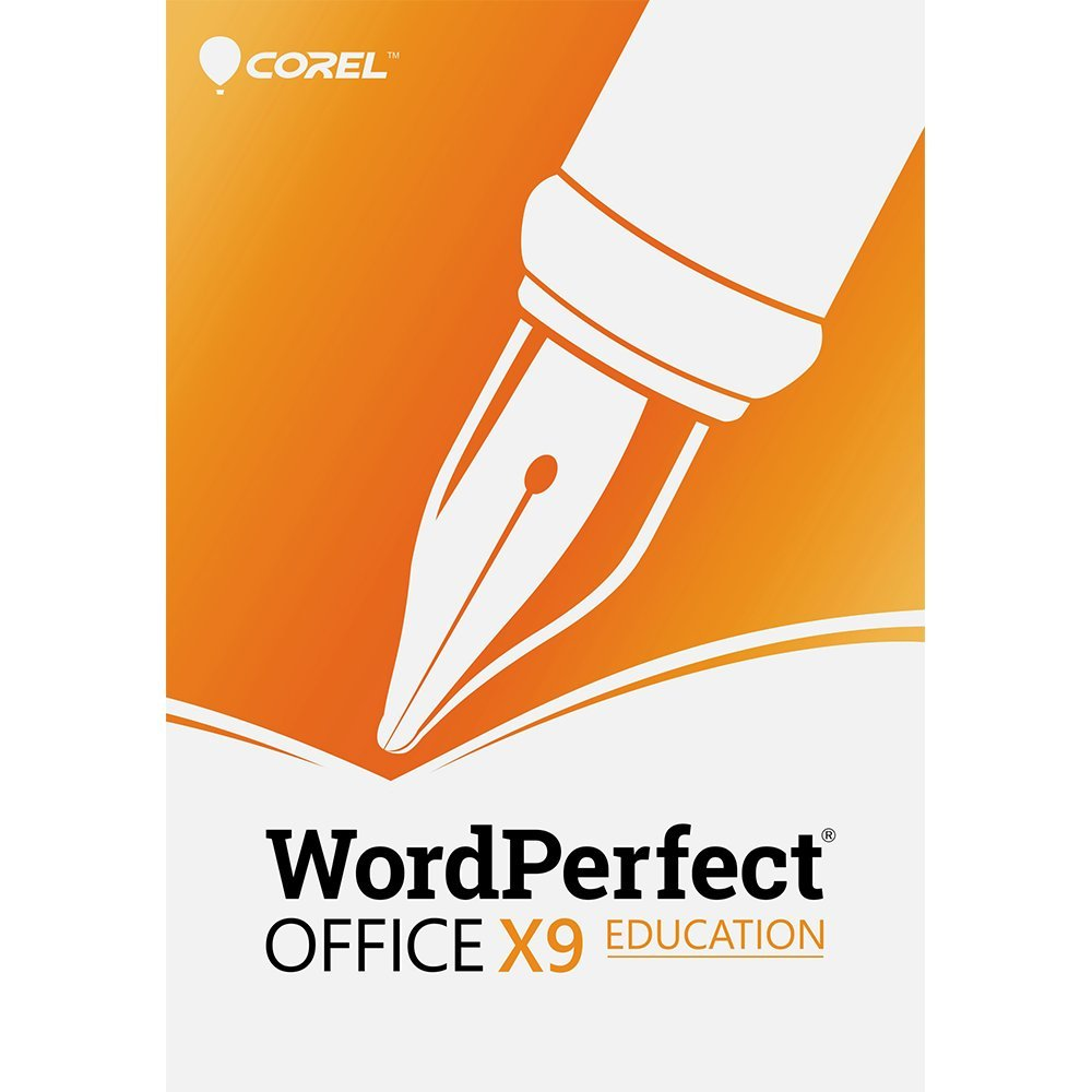 Corel WordPerfect Office X9 - All in One Office Suite - Education [PC Download] by Corel