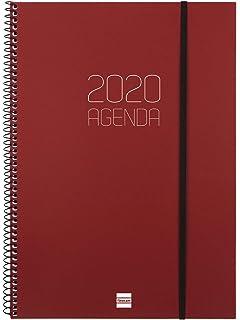 Finocam - Agenda 2020 semana vista apaisada Espiral Year ...