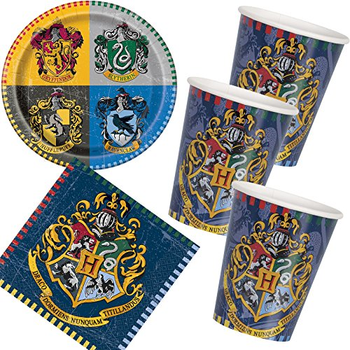 33 Piezas Party * HARRY POTTER * con plato + taza + ...