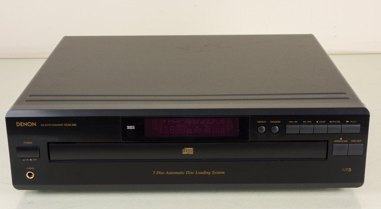 Denon DCM280 5 Disc DC Changer No Remote