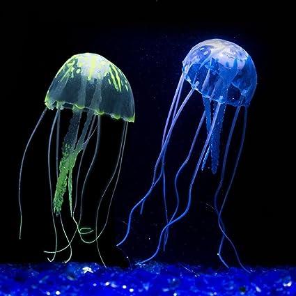 nisels LED luz pecera acuario resplandor efecto acuario peces medusas