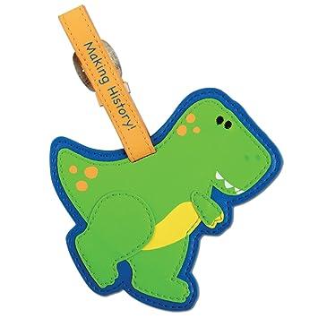 Amazon.com: Stephen Joseph Luggage Tag, Dino: Toys & Games