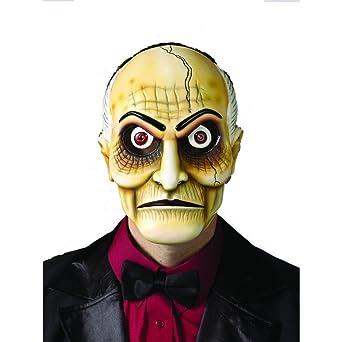 Amazon.com: ventriloquist dummy disfraz máscara pelo blanco ...