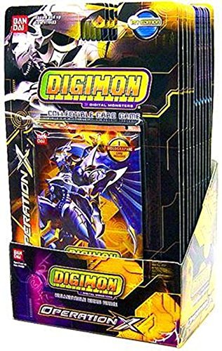 Digimon Collectible Card Game Operation X Booster Box (12 Packs)