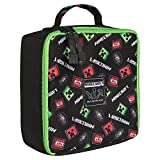 JINX Minecraft Scatter Creeper Insulated Lunch Bag (Black)