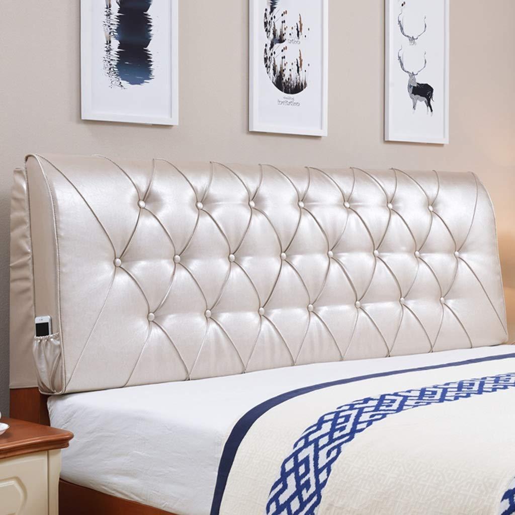 ベッドクッション ヘッドボードベッド ソフトパック ダブルヘッドクッション バックレスト 畳ベッド ソフトバッグ 枕 ベッドカバーセット 6色 複数サイズ 150*60 150*60 C B07MRKJV2J
