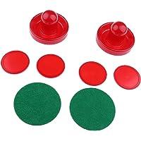 Gazechimp 2pcs Juegos de Air Hockey Pushers Embujadores